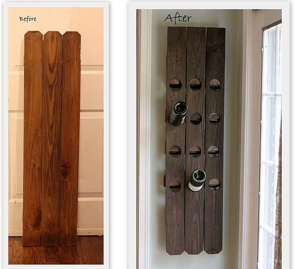how to build ax wine rack