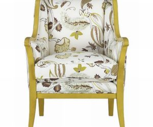 Delicieux Lauren Chair With A Beautiful Floral Print · Cozy Carly Chair With  Botanical Print