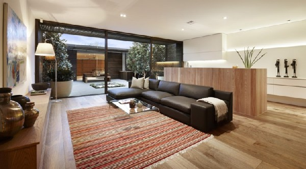 Carpenter Street Residence living room