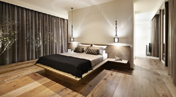 Carpenter Street Residence bedroom
