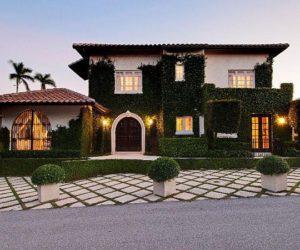 Restored 1918 Mediterranean residence in West Palm Beach