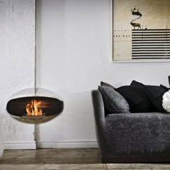 The Cocoon Fireplace By Federico Otero