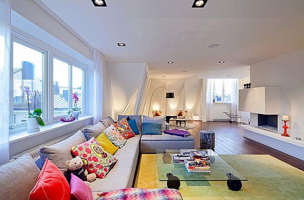 Modern 3-storey residence interior design