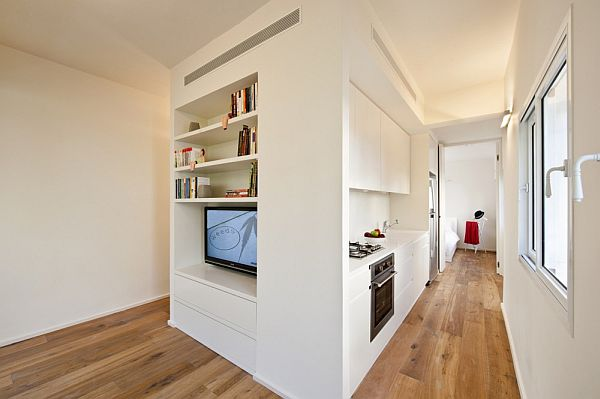 40 sqm studio apartment renovation by sfaro