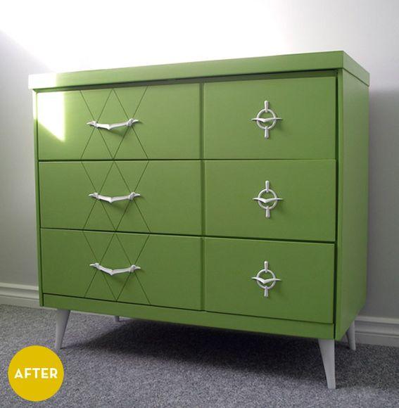 After renovation dresser