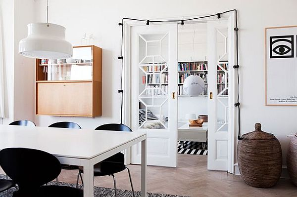 Stylish and dynamic Swedish Apartment