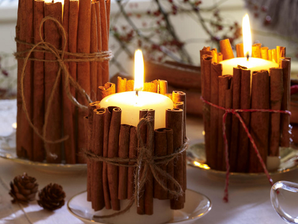 View in gallery & 30 Christmas Candle Decoration Ideas for 2011
