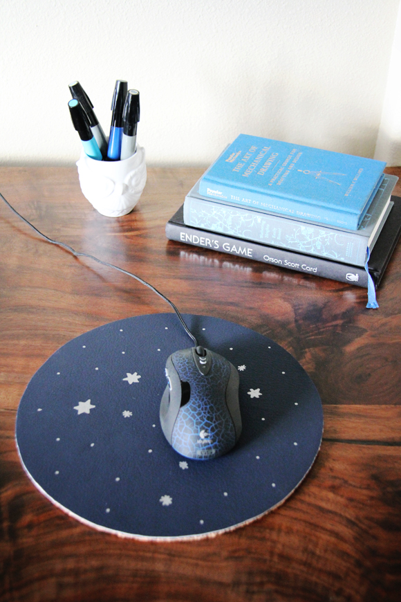 Constellation Mouse pad DIY