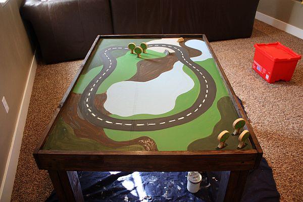 DIY train table