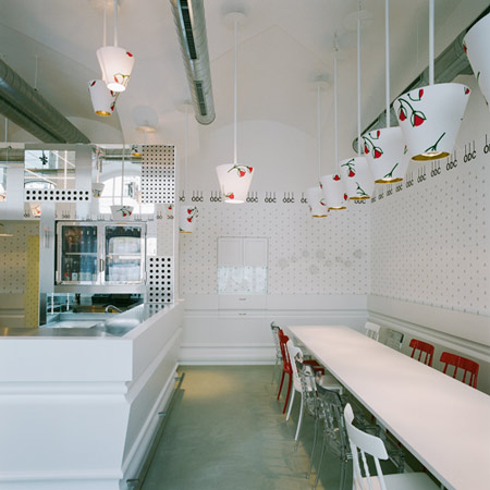 Interior Design Restaurant in Vienna by Denis Kosutic