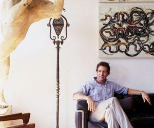 Eclectic Eric Goode's loft in Manhattan