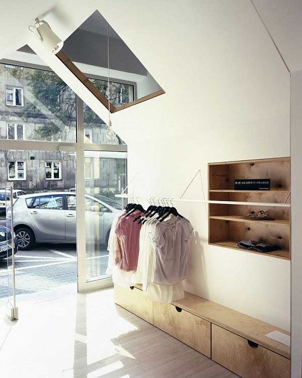 The Fiu Fiu Boutique Interior Design From Warsaw Poland