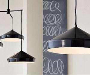 The modern-industrial Finn chandelier