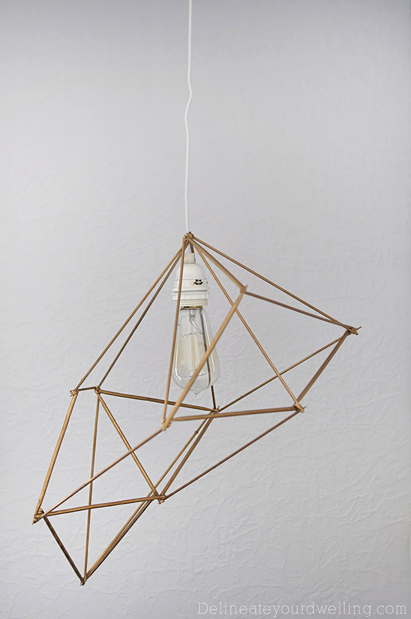 8 DIY Pendant Lamps With Highly Unusual Designs