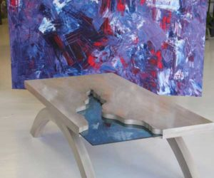 The Grand Canyon Table by Amit Apel Design