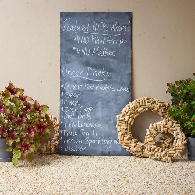 Housewarming party menu