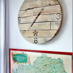 How To Craft A Wall Clock Out Of Leftover Wood Scraps Awesome Ideas
