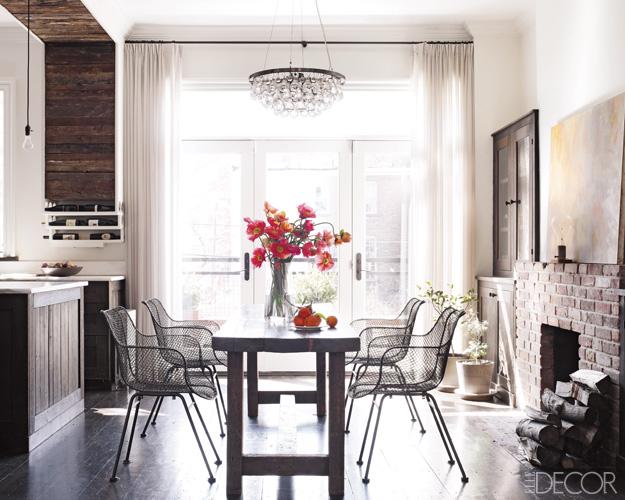 Keri Russell interior design house