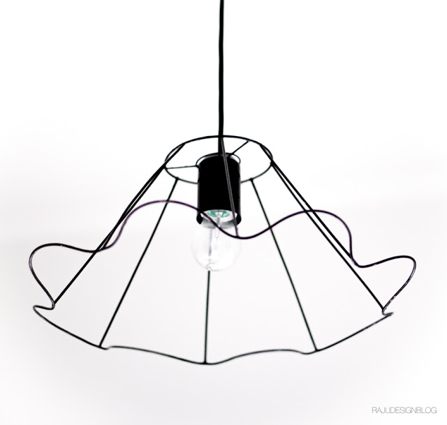 Lampshade industrial style