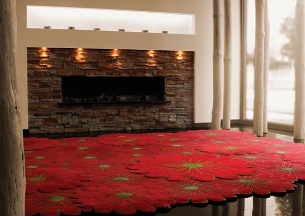 Exceptional View In Gallery. The Same Effect Will Have This Joyful Layered Flowers Rug  Collection By Piodao. Design Ideas