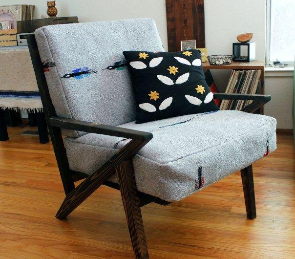Midcentury mod chair