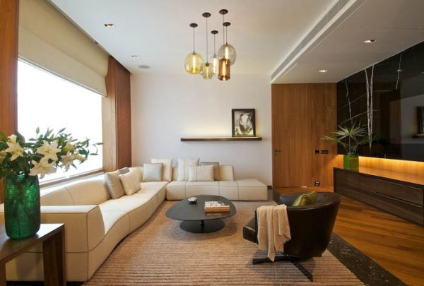 Modern interior design by rajiv saini for Best house interior designs in india