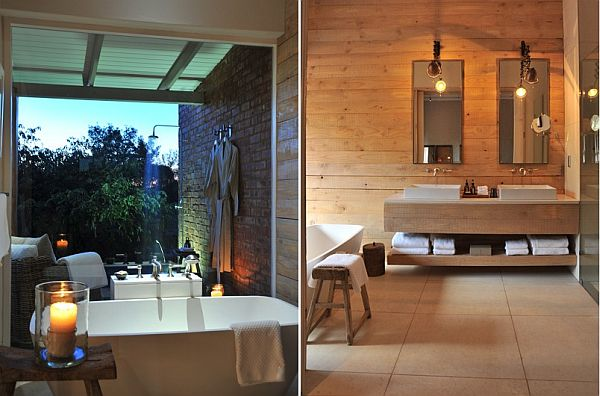 Morokuru Farm House In South Africa Bathroom