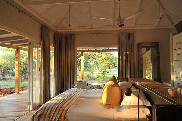 Morokuru Farm House in South Africa bedroom
