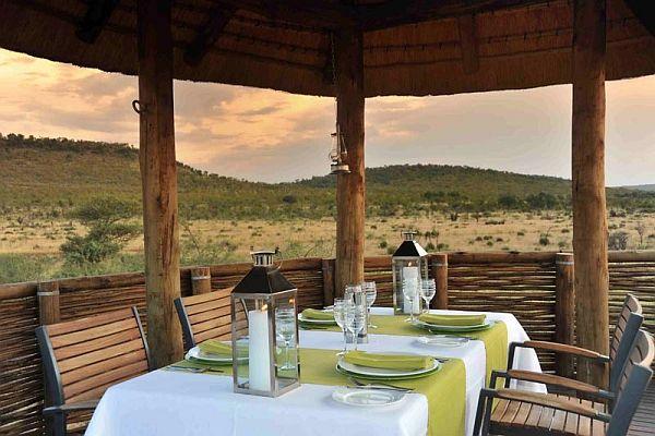 Morokuru Farm House in South Africa nature