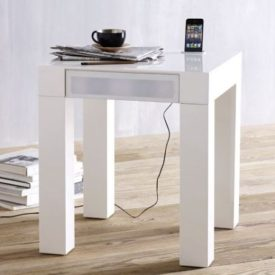 Parsons Audio End Table