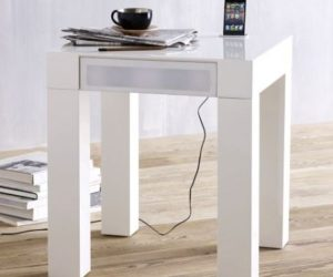 The Parsons audio end table