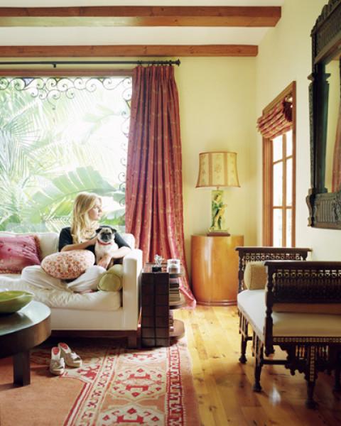 Poppy Montgomery interior design house