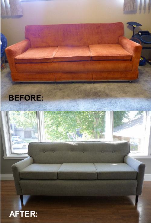 Re-upholster sofa