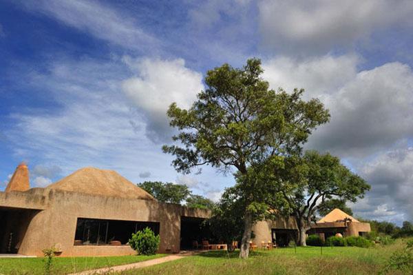 Lodge in the Sabi Sabi Game Reserve