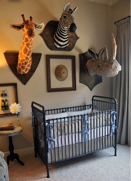 Baby Boy Room Design Pictures: Chic And Fun Safari Nursery