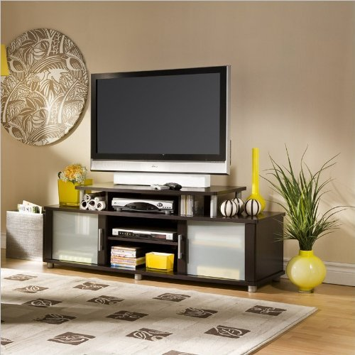 the chic south shore city life tv stand. Black Bedroom Furniture Sets. Home Design Ideas