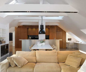 Glamorous penthouse in Stockholm for sale