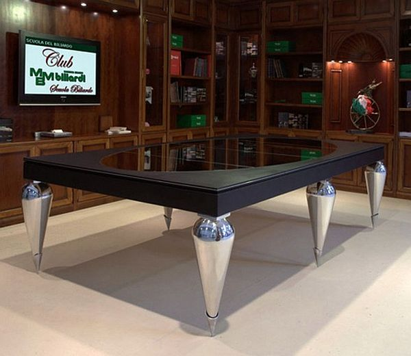 Convertible Billiard Dining Tables by MBM Billardi