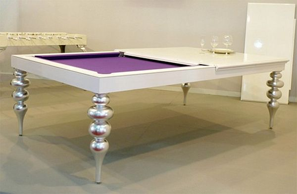 practical convertible billiard dining tables by mbm billardi. Black Bedroom Furniture Sets. Home Design Ideas