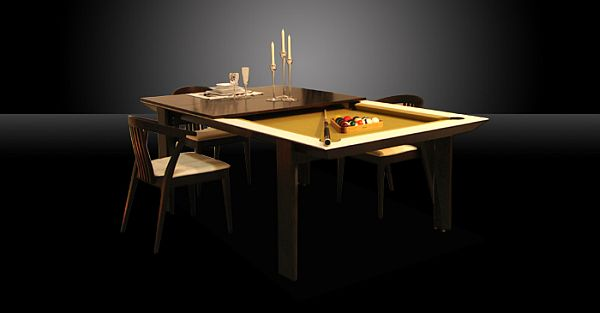 Practical Convertible Billiard Dining Tables by MBM Billardi : Stylish Billiard Dining Table Furniture6 from www.homedit.com size 600 x 313 jpeg 13kB