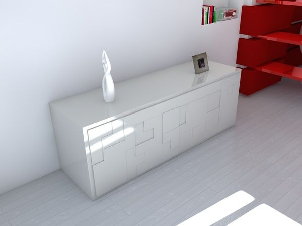 Tetris Inspired Sideboard Idea