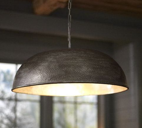 The oversized townsend hammered pendant view in gallery aloadofball Choice Image