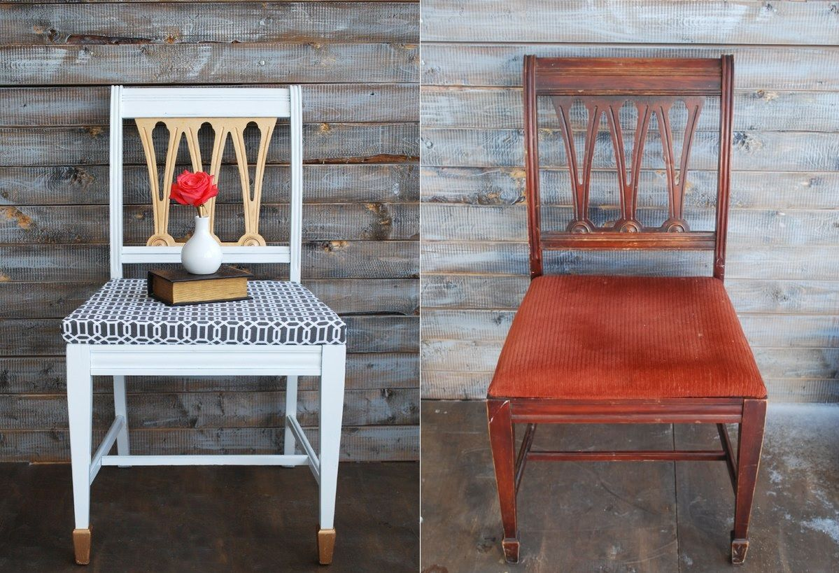 Traditional dinin chair makeover