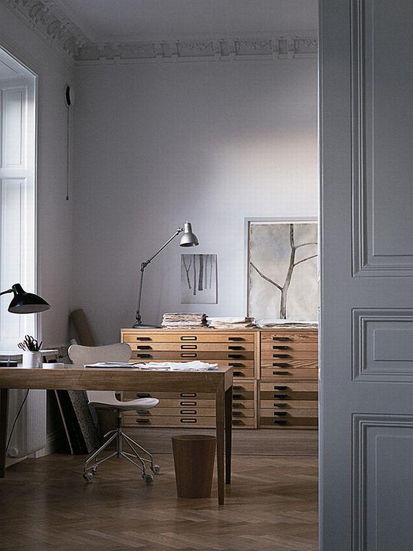 Mats Gustafson desk from apartment