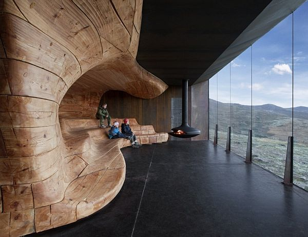 Tverrfjellhytta, The Norwegian Wild Reindeer Centre Pavilion By Snøhetta