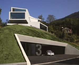 Unique Concrete House with Unique views by Ungertreina