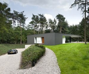The Modern Villa Veth in Hattem, Netherlands