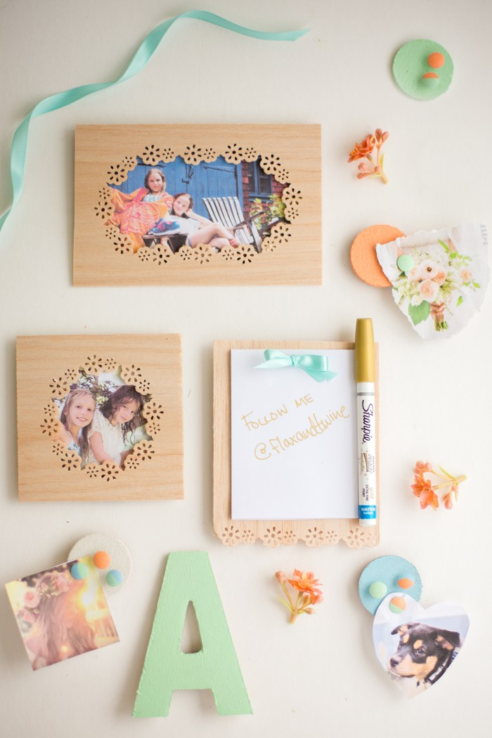 Wooden magnetic boards