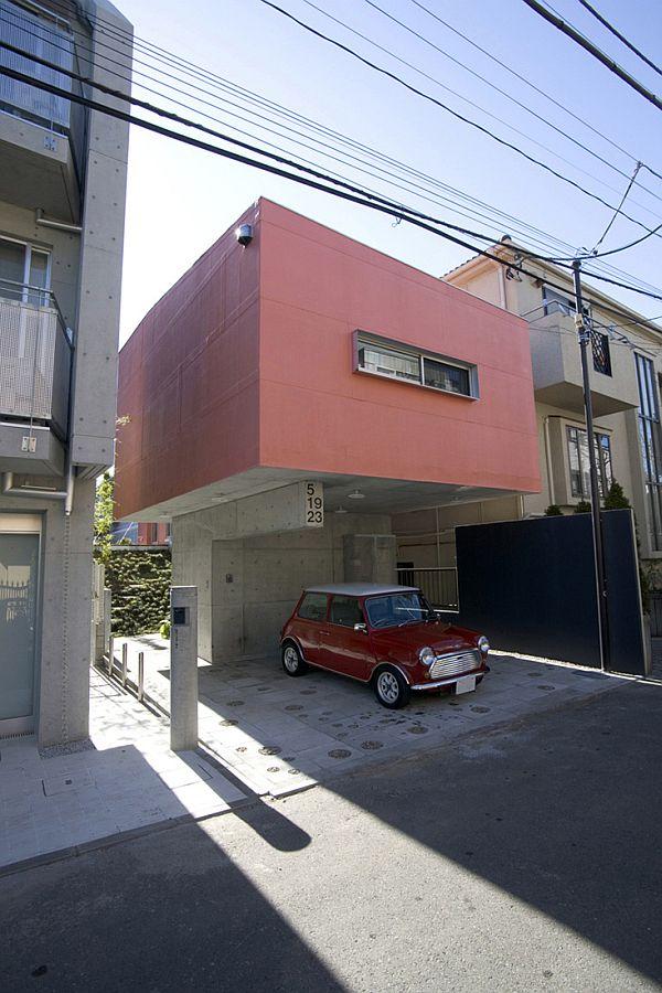 Modern Small Yoyogi House In Tokyo