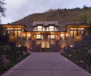 Contemporary mountain home in Aspen